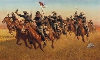 Buffalo Soldiers - Advance As Skirmishers