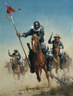 Charge of the Buffalo Soldiers