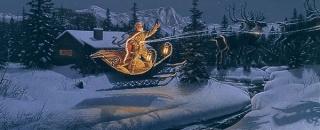 Moon Flight on Christmas Night