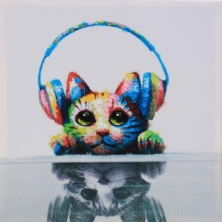 Music Loving Kitty