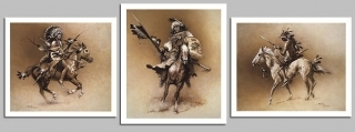 Shadow Of The Warrior - (3 PRINT SET)