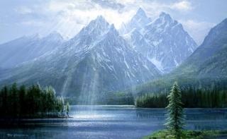 Splendor of the Tetons