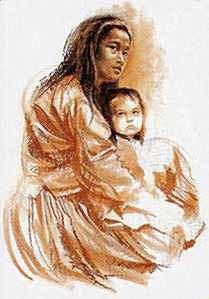 Navajo Madonna
